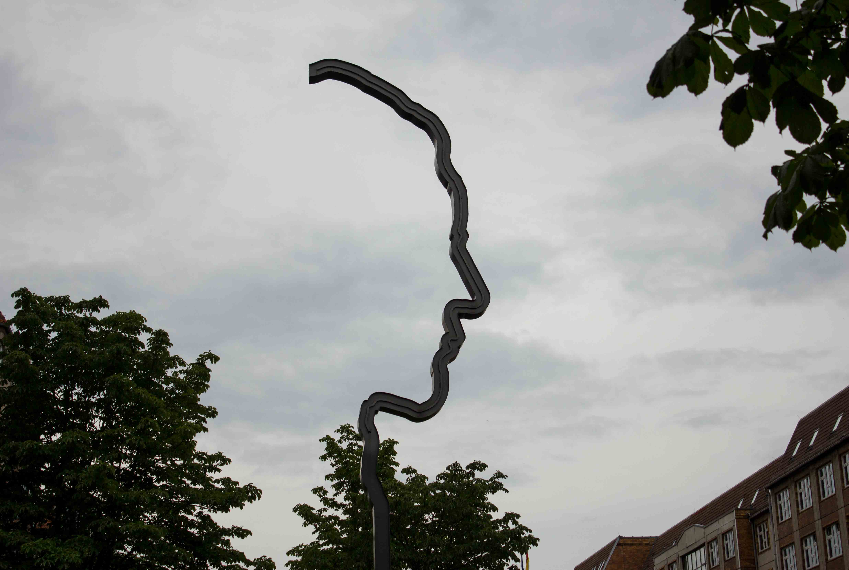 Denkmal Georg Elser in der Wilhelmstraße