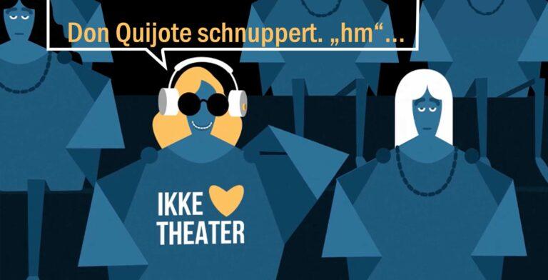 Berliner Spielplan Audiodeskription - Screenshot IKKE liebe Theater