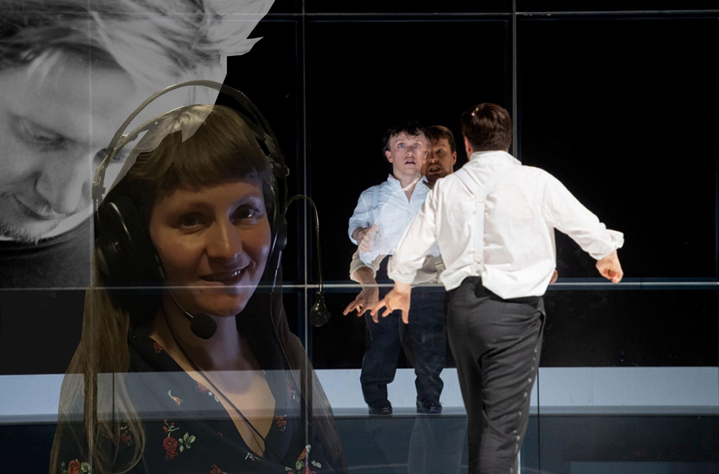"""Collage """"der Zwerg"""" an der Deutschen Oper mit Felix Koch und Anke Nicolai"""